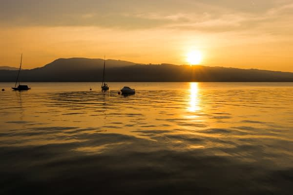Naplemente az Attersee-n by Phototrip