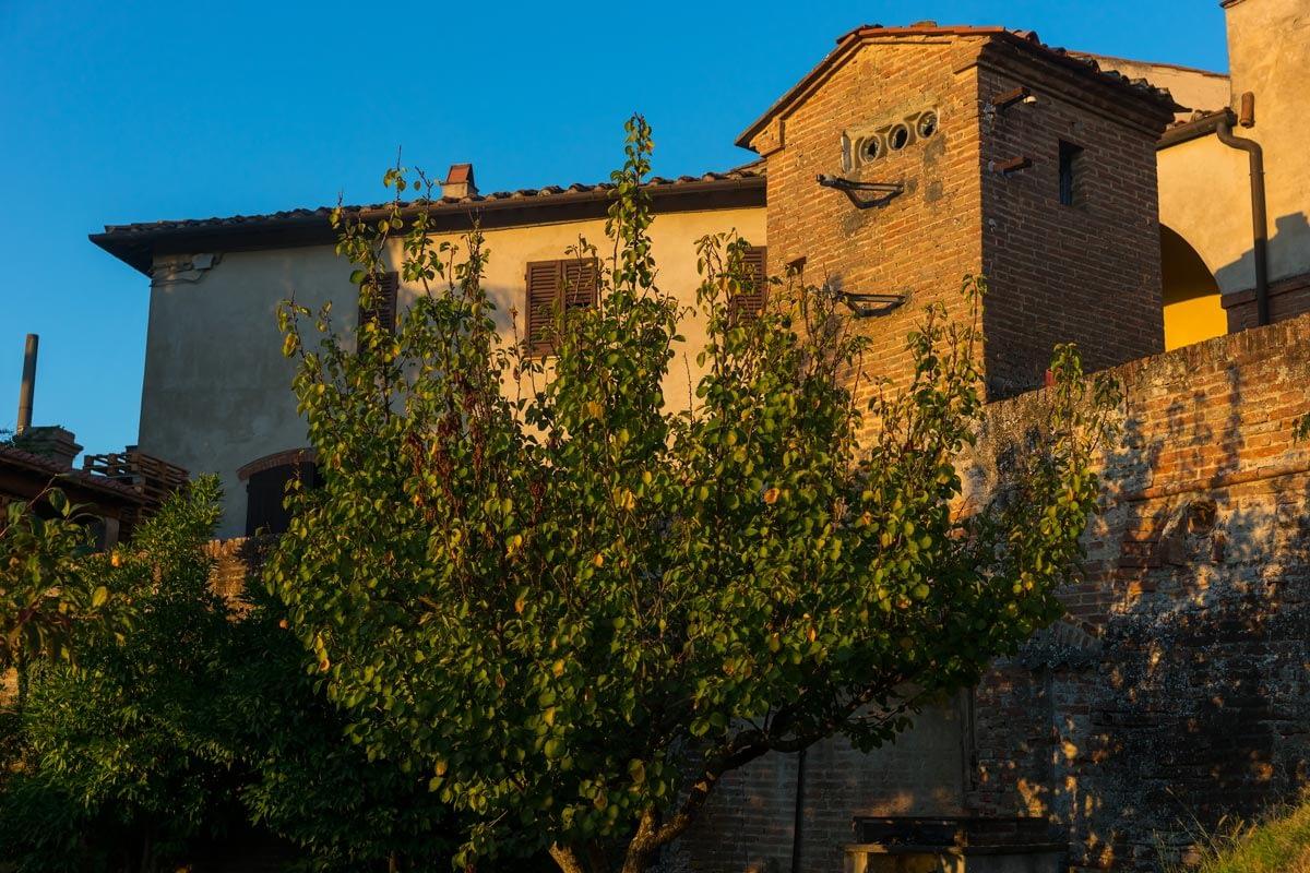 Azienda Agricola di San Gervasio - a borászat évszázados épülete