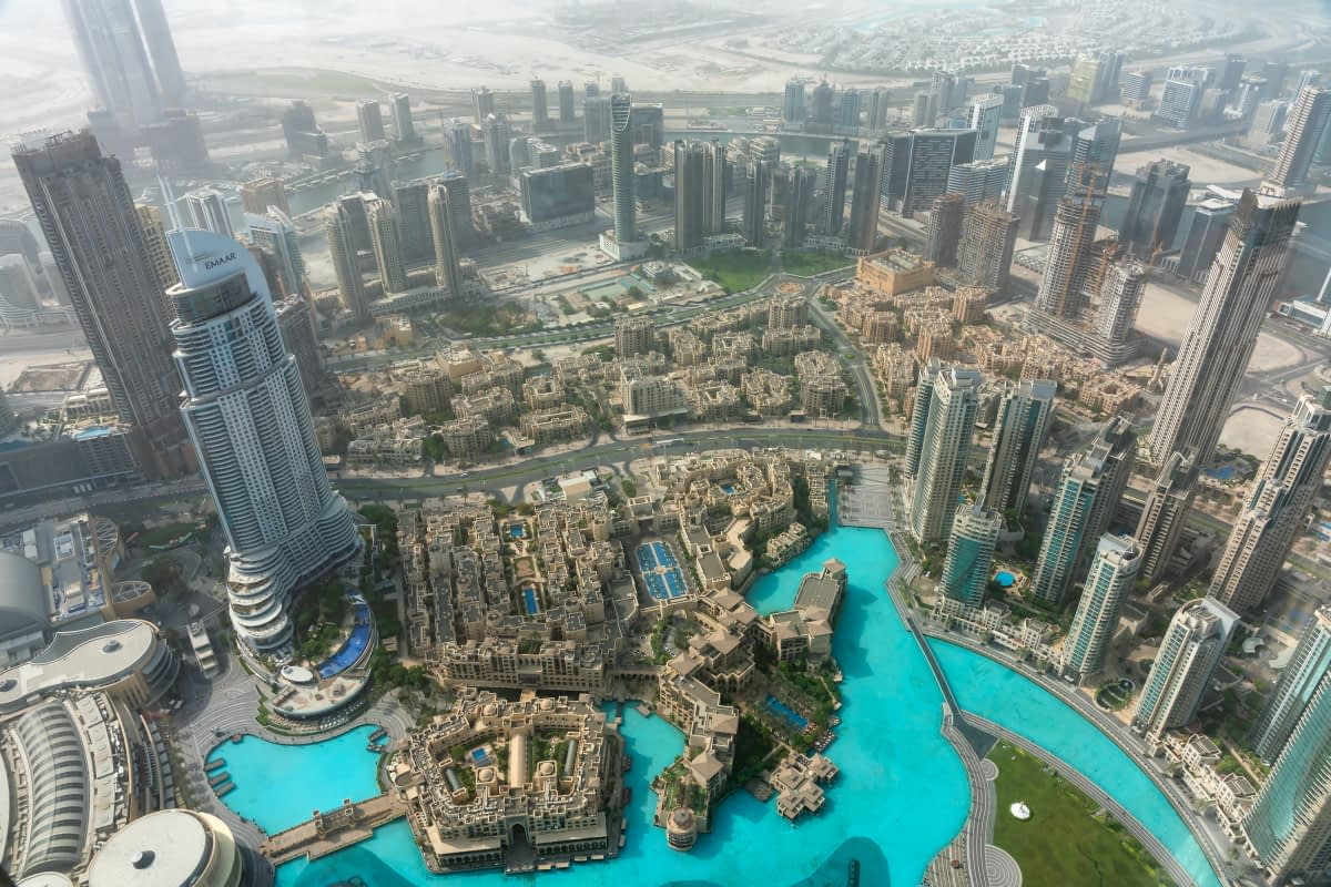 Dubai from the Burj Khalifa