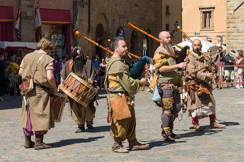 Volterra AD13978 Festival - Corteo del Boia, a hóhérok felvonulása