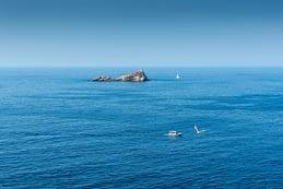 Portoferraio (Isola d'Elba) - parányi szigetecske a kikötőtől északra